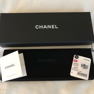 CHANEL Jewelry - ❤️Authentic Chanel gold leather bracelet❤️